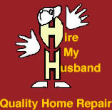 Hire My Husband Handyman Services logo
